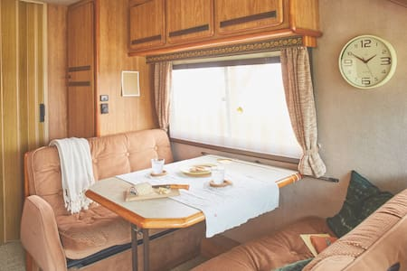 Retro Motorhome retreat to the French countryside! - Saint-Clar - รถบ้าน/รถ RV