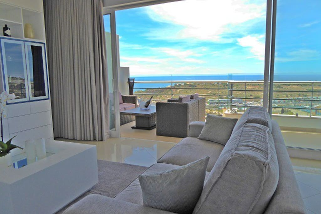 Stunning Sea Views from the Living Area