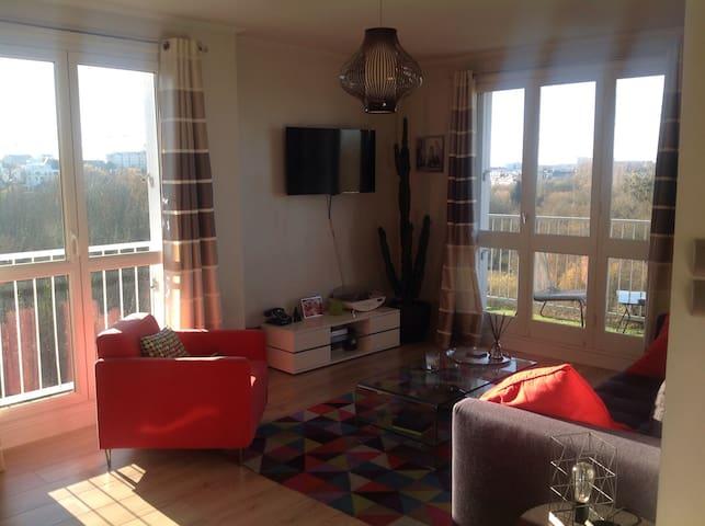 Agréable T2 proche du centre ville - Rennes - Apartamento
