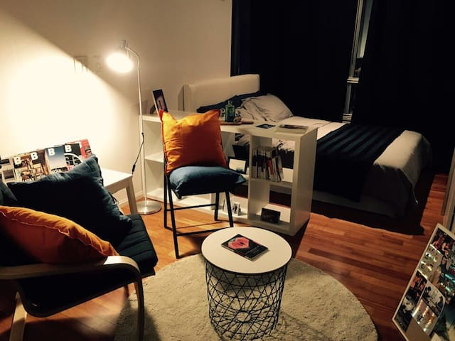 Modern cozy studio super close to Lotte mall