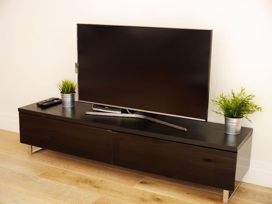 Television in lounge area