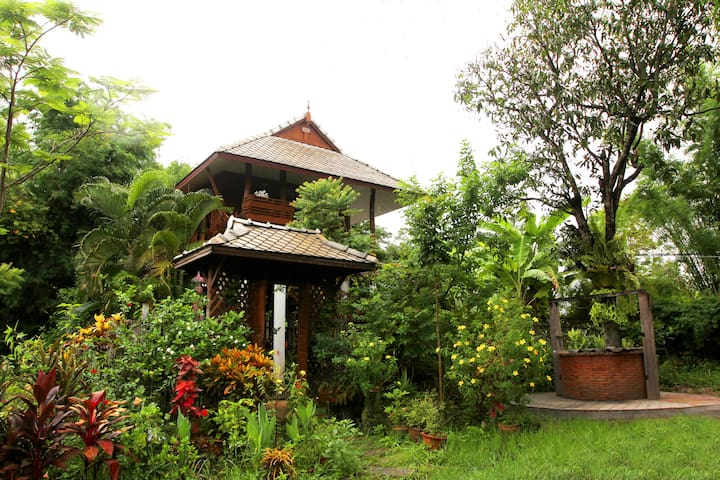 Saeng Khum Village 1 living in the natural