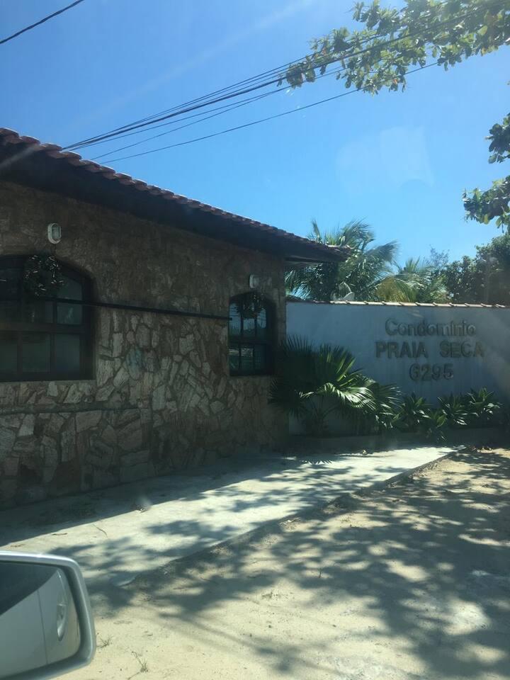 Casa de Condomínio - Praia Seca - Acesso à Lagoa