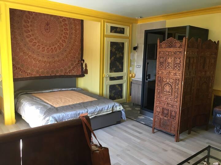 Coeur de Nature Jura , Suite INDE  insert/sauna