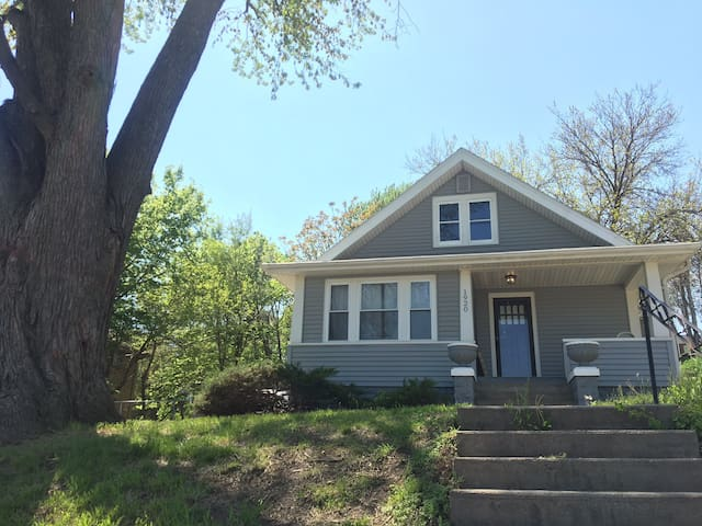 Charming Aksarben home with fully fenced in yard