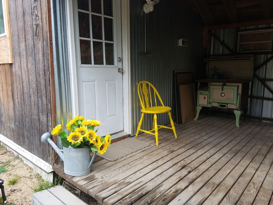 Front porch October 2016