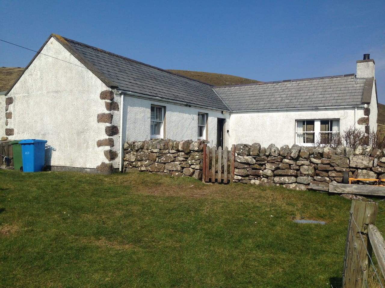 The cottage from the front