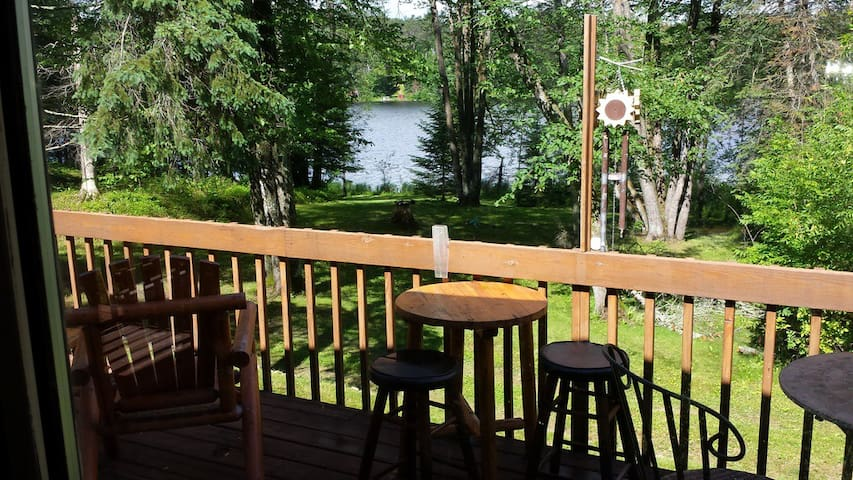 Quiet, cozy lakefront cabin with 26 acres!