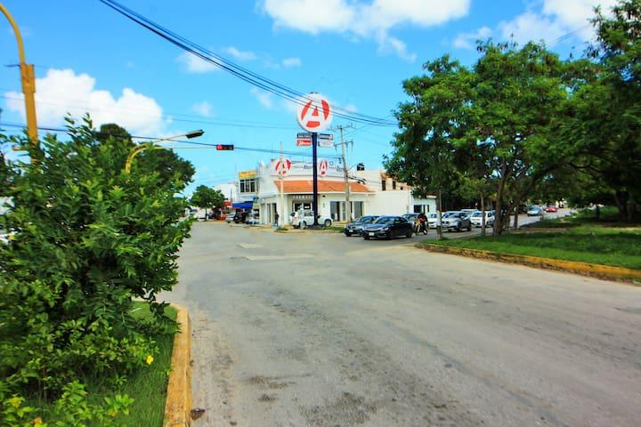 Farmacias y establecimientos comerciales y de alimentos