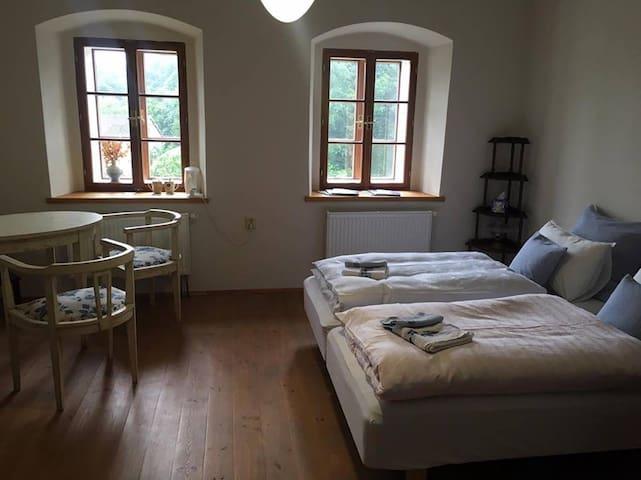 Romantic room in the heart of Úštěk - Úštěk - House