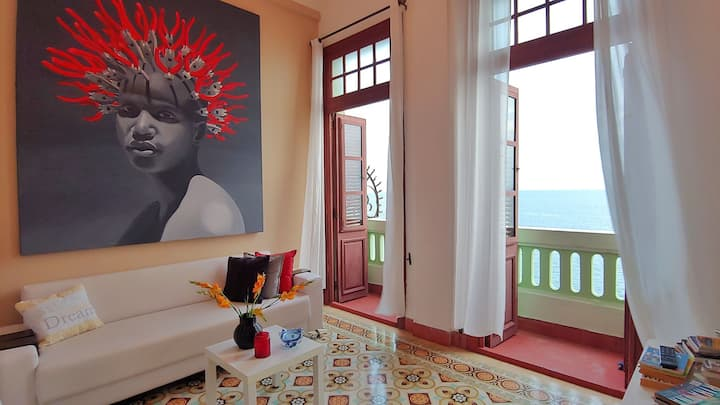 Vista Real.Central Oceanfront House.Two Beds!