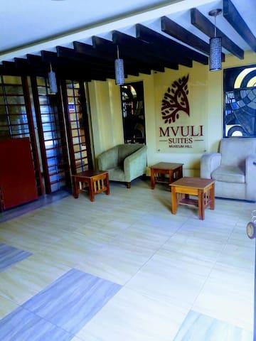 Mvuli suites @Museum Hill