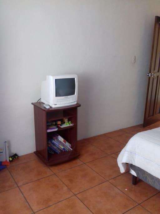 la habitación disponible
