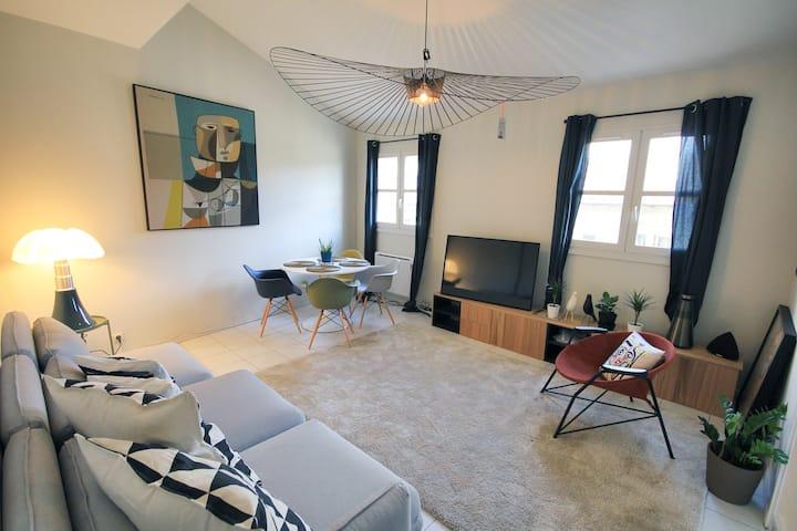 Appart Avignon Center Wifi / Terrace / 4 guests