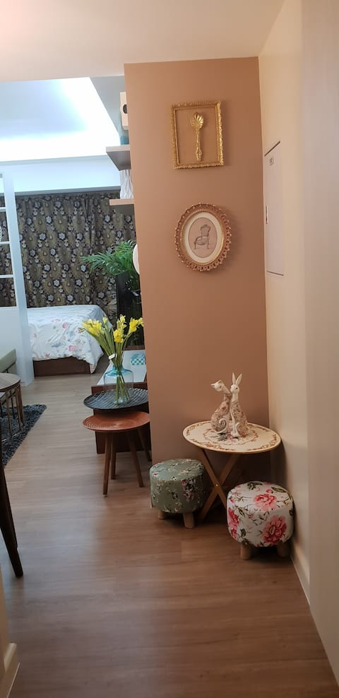 Cozy and charming Studio unit condo