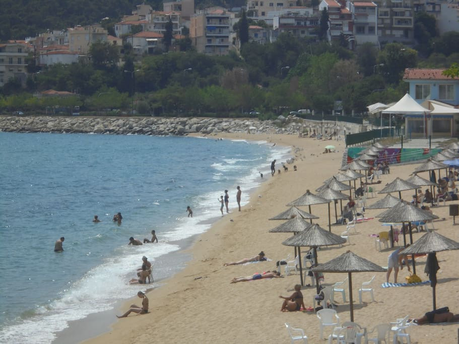 RAPSANI BEACH(200m FROM THE HOUSE)