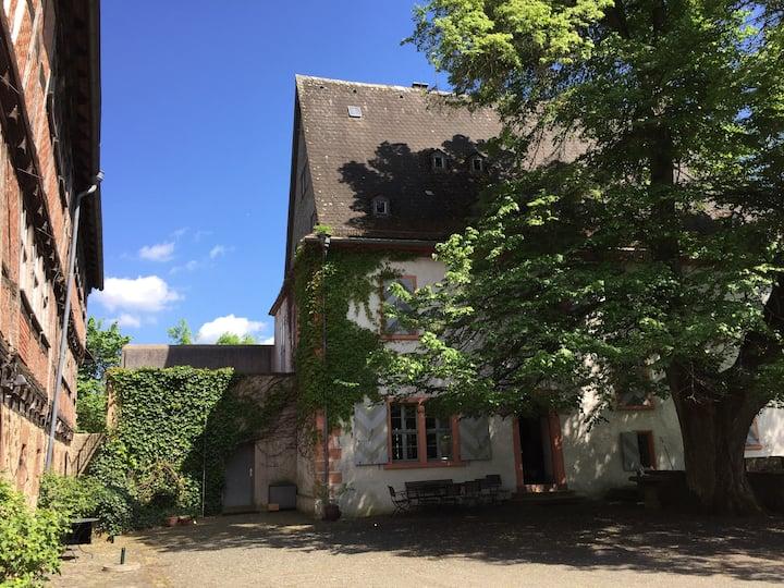Familientreffen/Tagen im Herrenhaus Burg Gemünden
