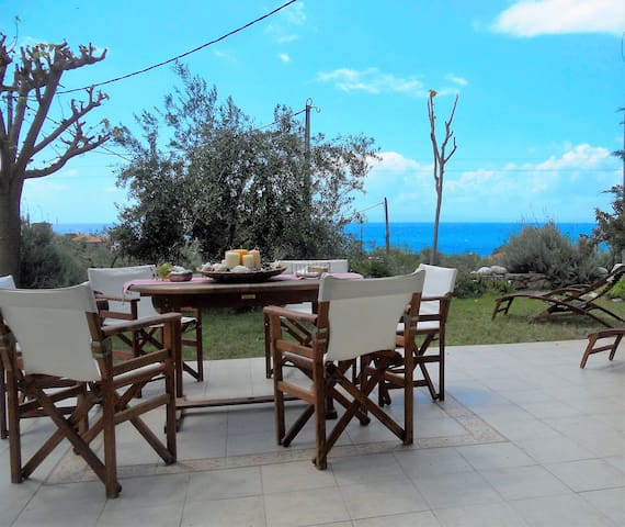 """Lavender's""Villa breathtaking view near the sea! - αγιος νικολαος - Casa"