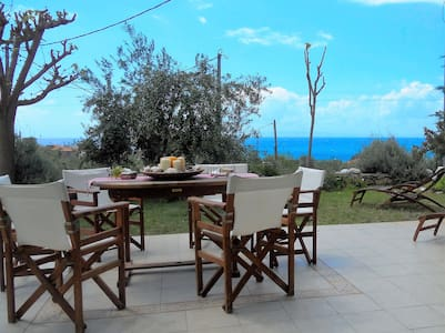 """Lavender's""Villa breathtaking view near the sea - αγιος νικολαος"