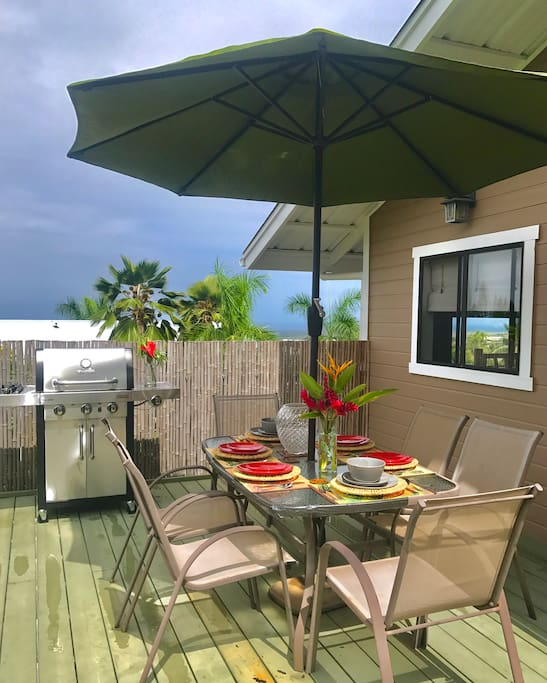 Guest will have access to BBQ and rear lanai.
