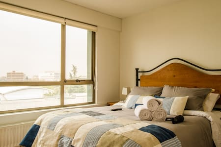 Cozy aptm. Steps away from the subway, great view! - Providencia - Apartemen