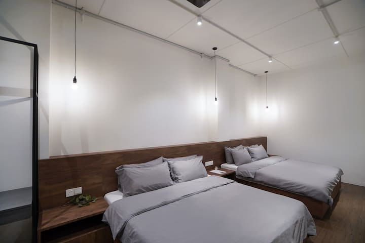 Minimalist cozy design for your comfort stay