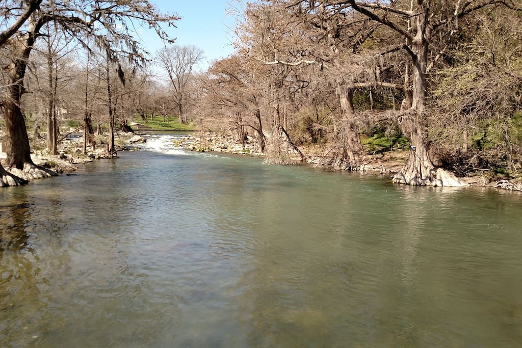 Guadalupe River @ Gruene, just 5 minutes away from Stars Haven