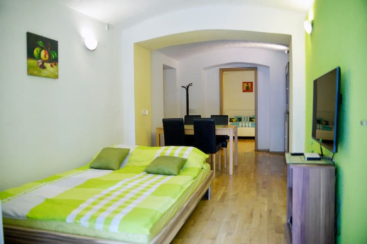 Ideally located ground floor appt, close to center - Ljubljana - Lägenhet