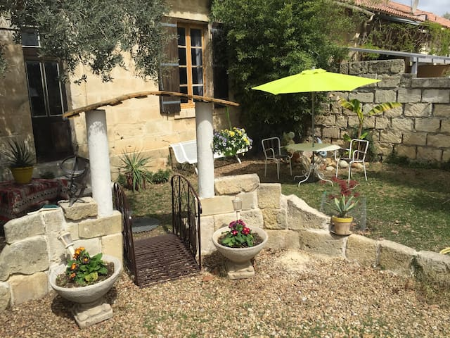 Petit appartement avec jardinet - Calvisson - Appartement
