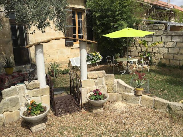 Petit appartement avec jardinet - Calvisson - Wohnung