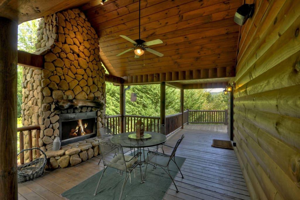 Sunrise Destination - Outdoor Fireplace