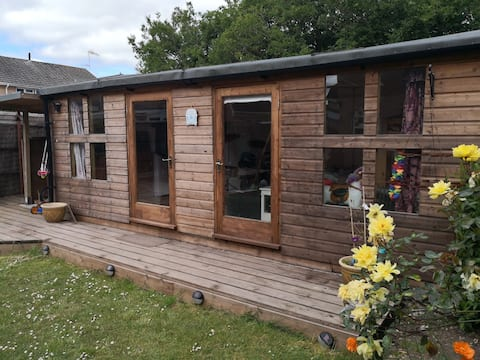 The Summerhouse. Cosy, quiet and comfortable.