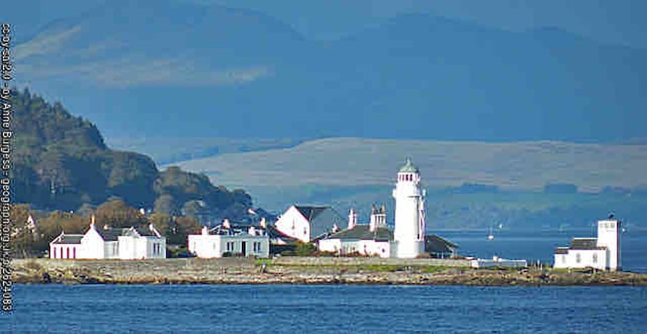 Lighthouse cottage - Toward , Nr Dunoon , Argyll