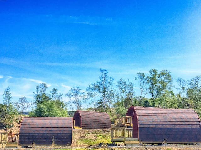 Tarbert Holiday Park Glamping Pods