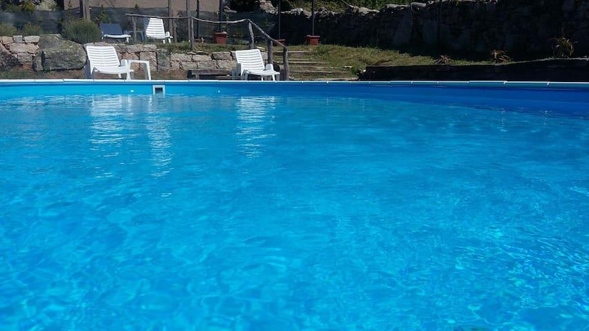 """Casetta """" Le Grazie """", con piscina - Calangianus - Hus"""
