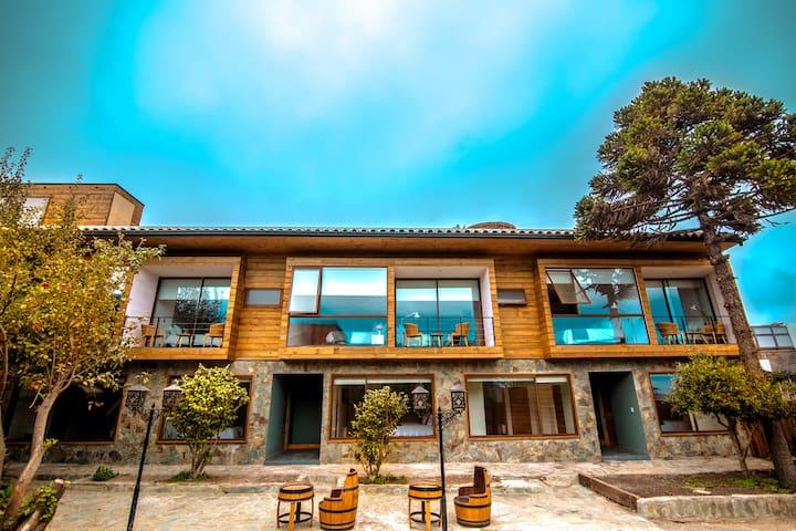 Habitacion Doble en Hotel Mar y Vino
