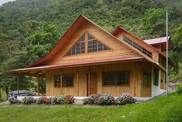 Casa de campo San Matías amplia y hermosa vista