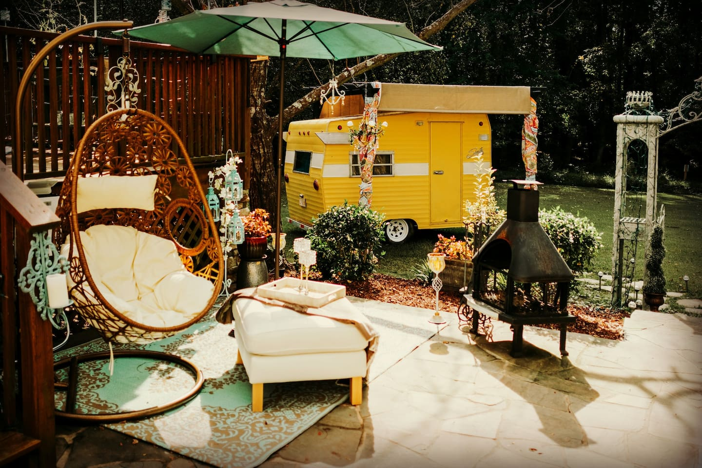 Glampers Paradise - Campers/RVs for Rent in Raleigh, North Carolina ...