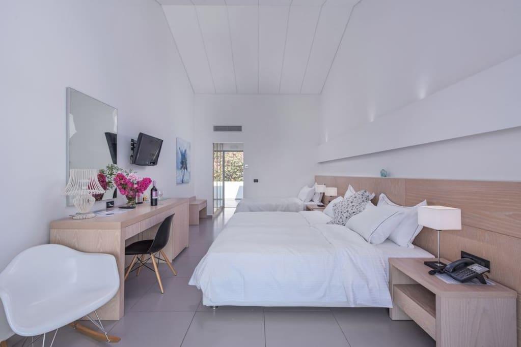 Skopelos Hotels, Sea View Triple Room 1st Floor