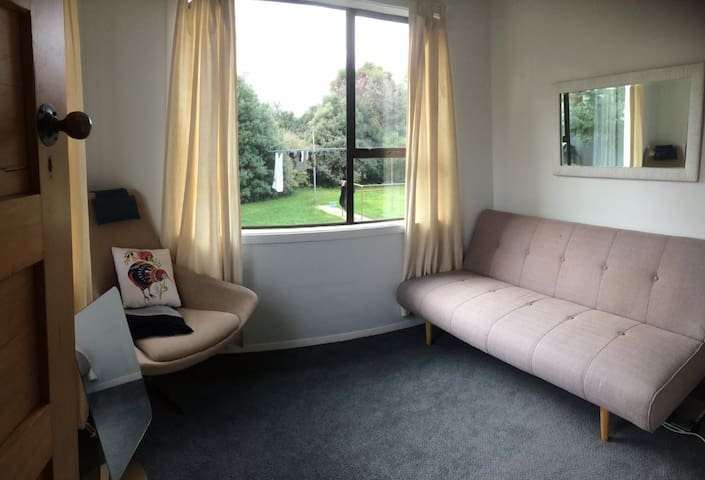 Affordable & sunny room in family home