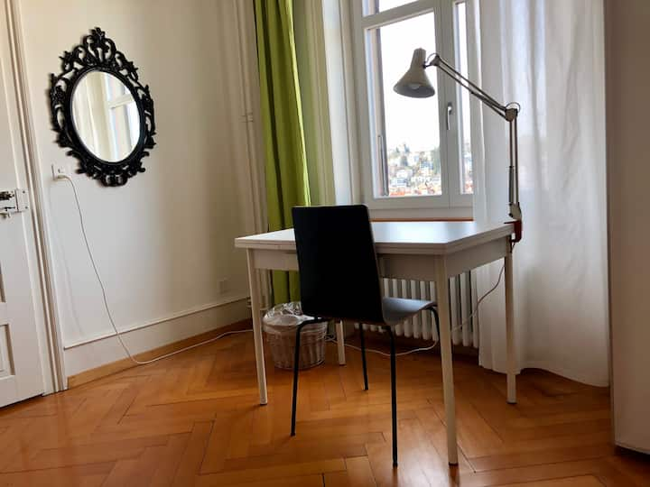 Nice room, central located in nice old house