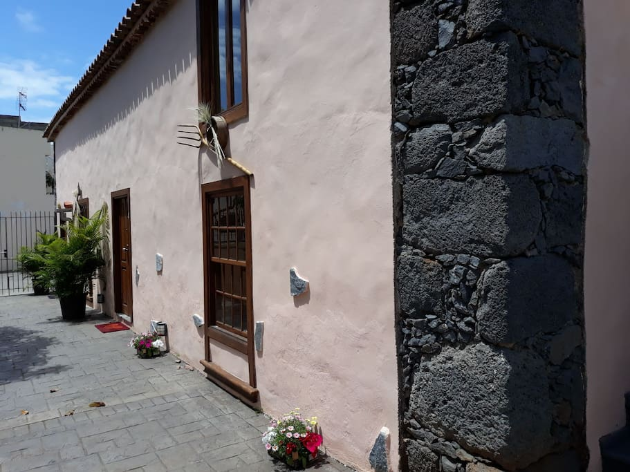 Una de las paredes