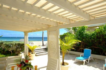 """Seaside"", 2 bedroom apt. on Silver Sands Beach"