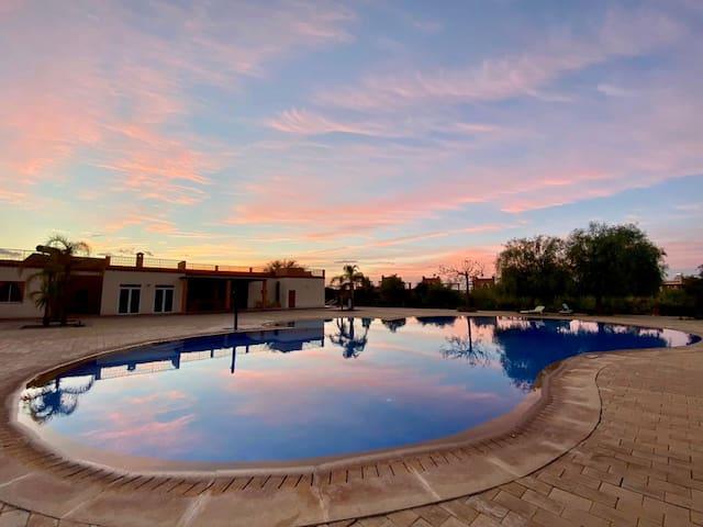 Marrakech Atlas view charming villas