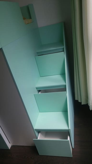 Stair of Bunk bed