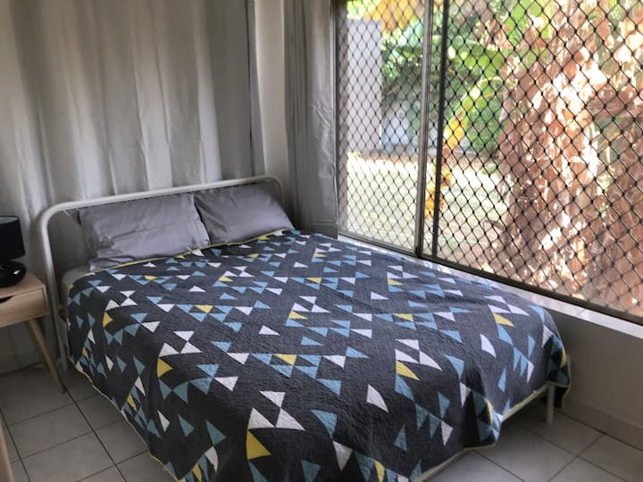 2 Bedroom Unit, great couch, outdoor space