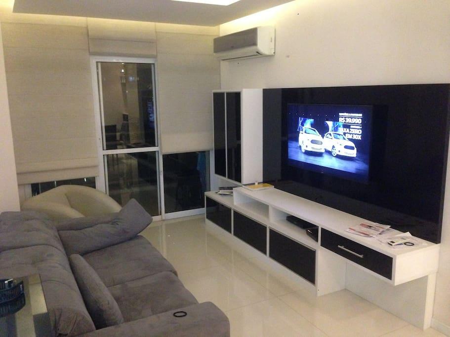 Sala com Ar Condicionado