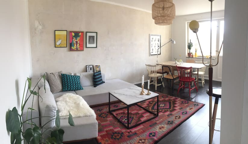 Cozy flat in calm area close to the sea and city