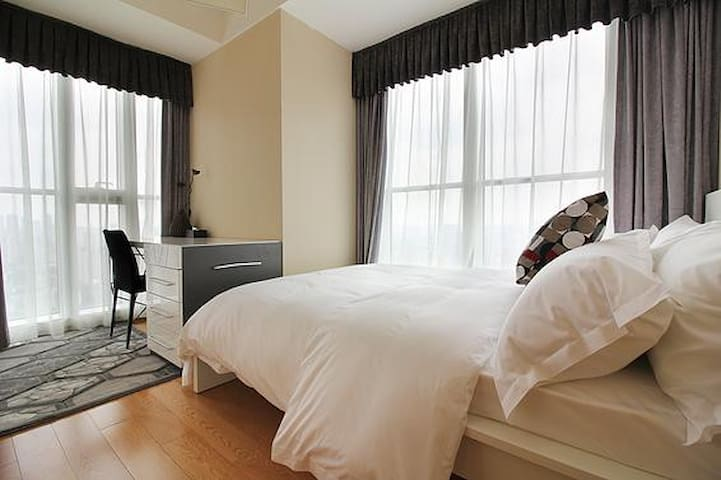 给您家的感觉(全新装修高档公寓) - Jinhua Shi - Apartment