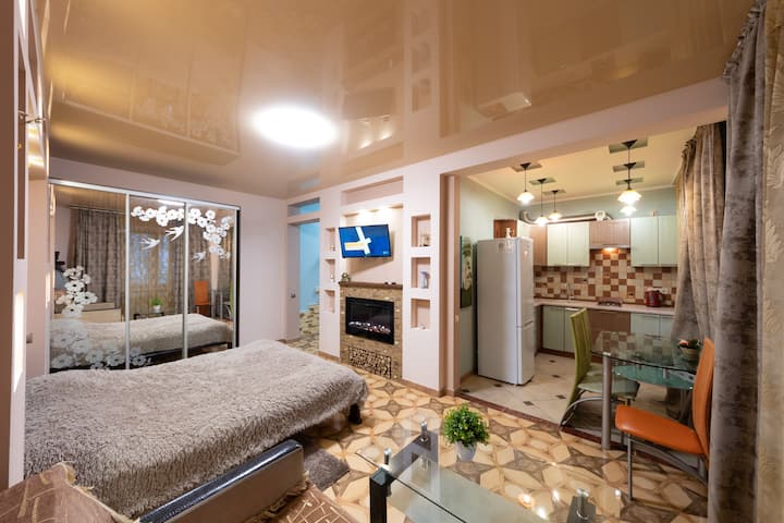 Cozy appartment center near GULLIVER & ARENA